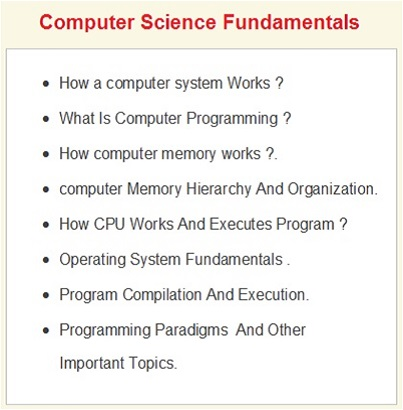 Software Engineering Skills , Computer Science Fundamentals