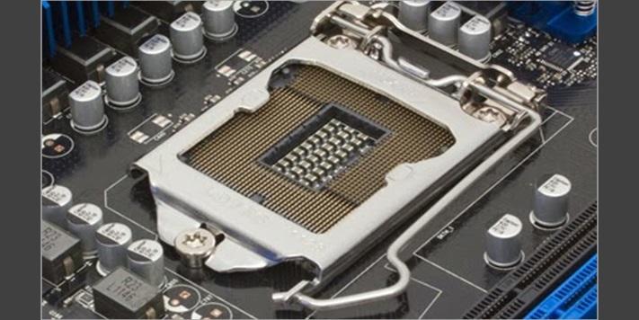 Processor Socket On Mother Board , Central Processing Unit