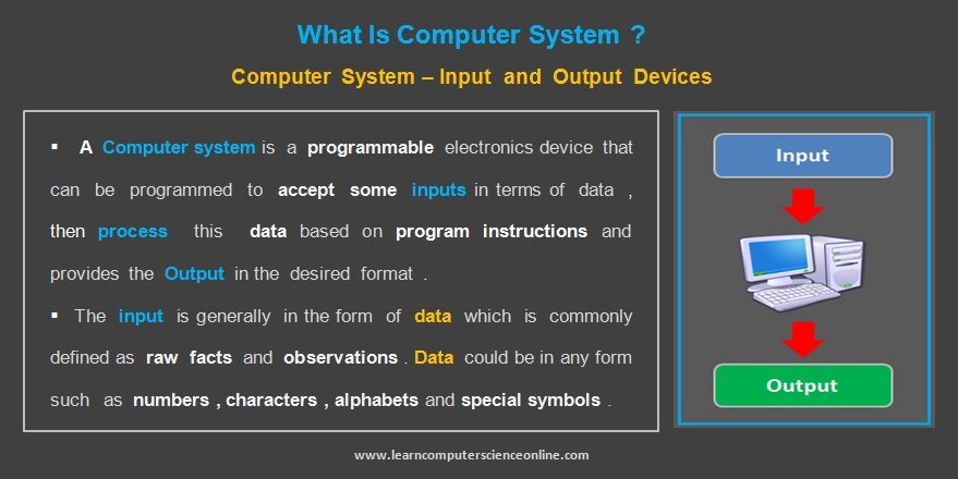 Introduction To Computer System | Computer System Hardware