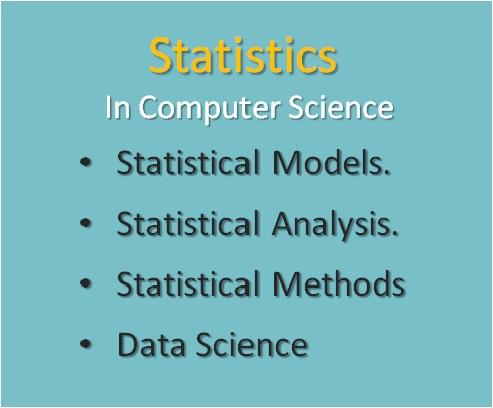 Statistics , Computer Science Fields Of Study