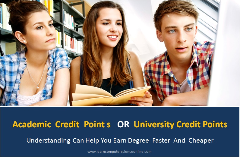 Computer Science Degree University Credit Points