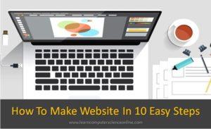 How To Make Website , Create A Website