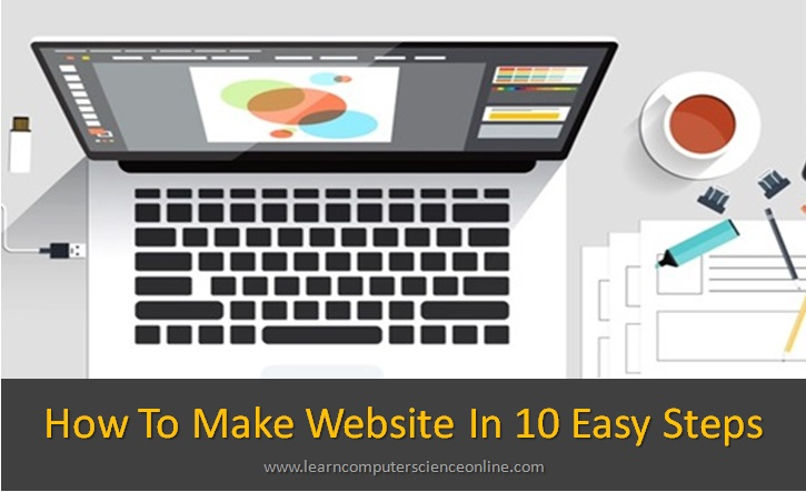 How To Make Website , Create A Website