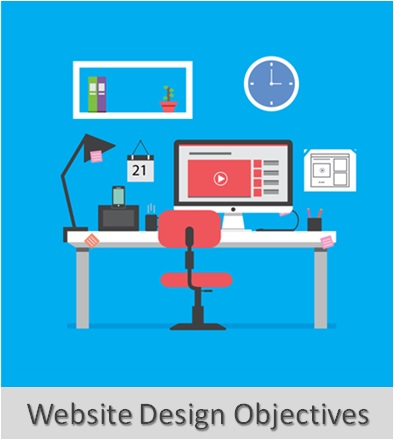 How to Make Website , Website Design Objectives