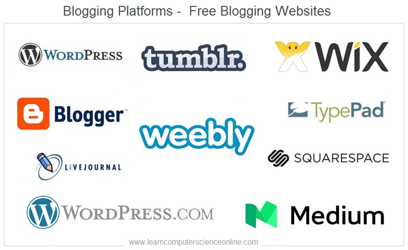 Blogging Platforms , Blogging Websites