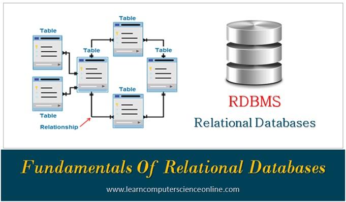 Relational Database , Relational Database Management System , RDBMS