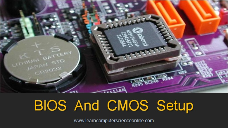 BIOS And CMOS