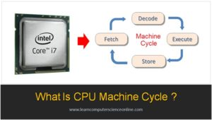 What Is Machine Cycle