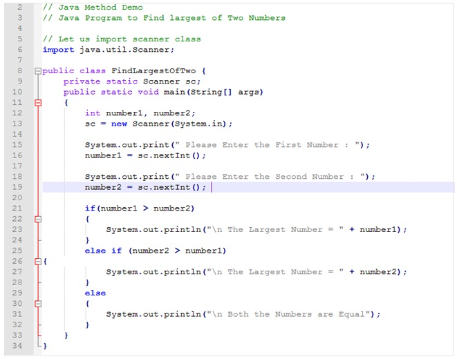 Java Method Example , Java Programming Basics