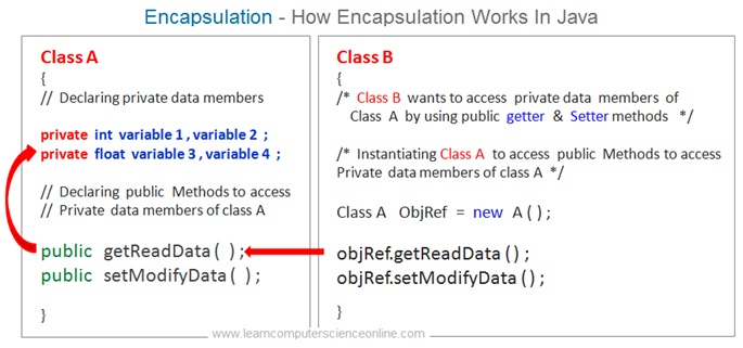 Java OOP Concept Encapsulation , Java Programming Basics