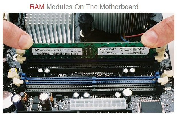 How To Install RM Modules On The Motherboard