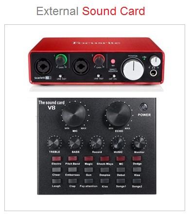 Sound Card External