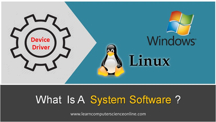 System Software , What Is System Software