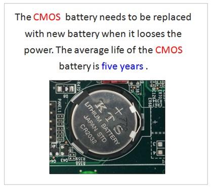 CMOS Battery , BIOS