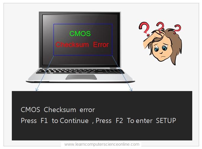 CMOS Checksum Error , BIOS
