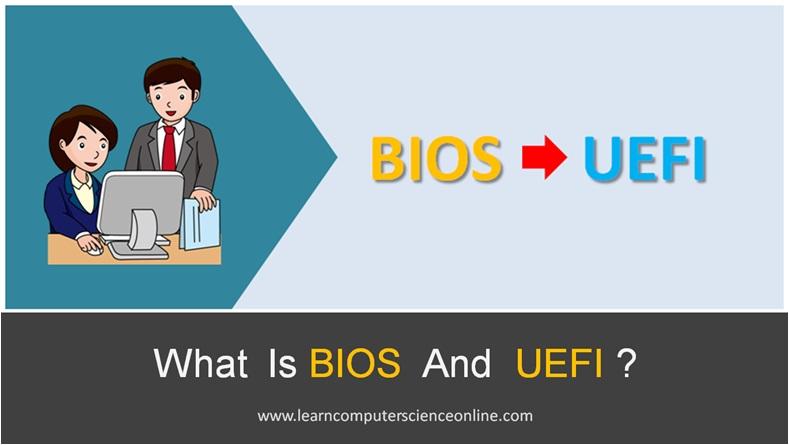What Is UEFI , UEFI Firmware
