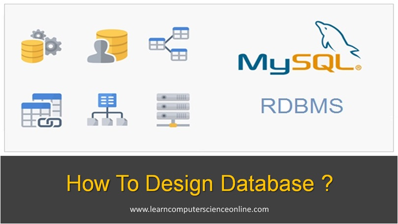 How To Design Database