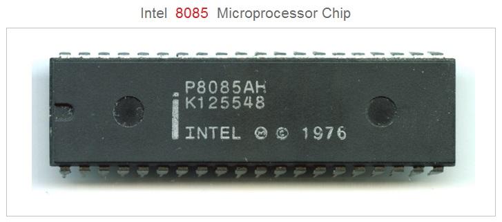 Intel 8085 Microprocessor