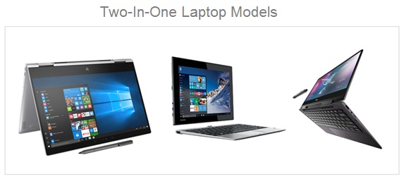 Two In One Laptop Models