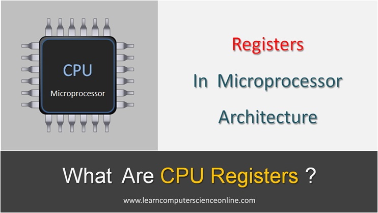 Types Of Registers In COA , What Are CPU Registers
