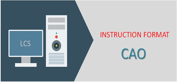 Instruction Format In Computer Architecture