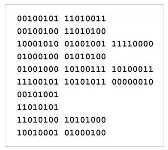 Machine Instructions In Binary