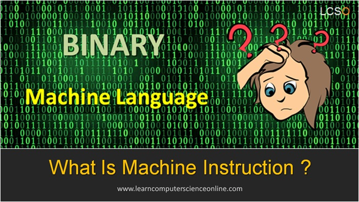 What Is Machine Instruction